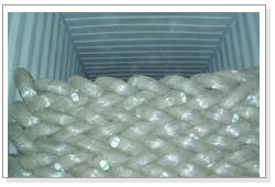 Galvanized Wire Packed for Shipment