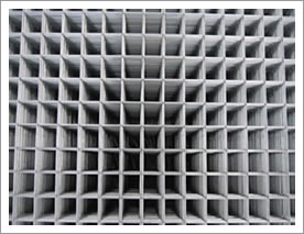 Square Hole Galvanized Welded Mesh Panels