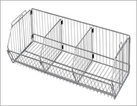 Wire Mesh Baskets for Cleaning and Storing
