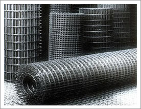 Welded Mesh with Square Holes
