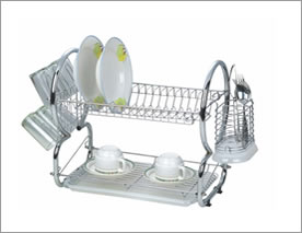 Kitchen Ware Rack Shelves